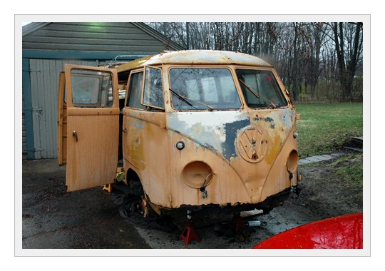 1952 Barndoor Ambulance